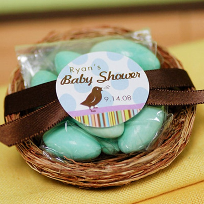 Baby Shower Favor Bird Nest