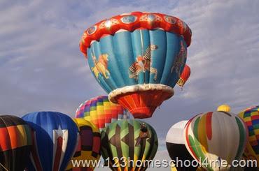 Albaquerque Balloon Festival Family Vacation in New Mexico