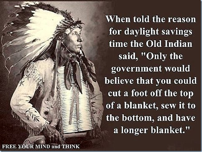 daylight savings time..