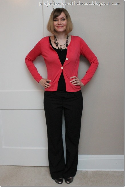 coral and black