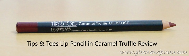 Tips n Toes Lip Pencil Review