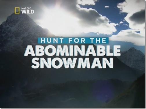 Охота на снежного человека (National Geographic Wild, 2011)