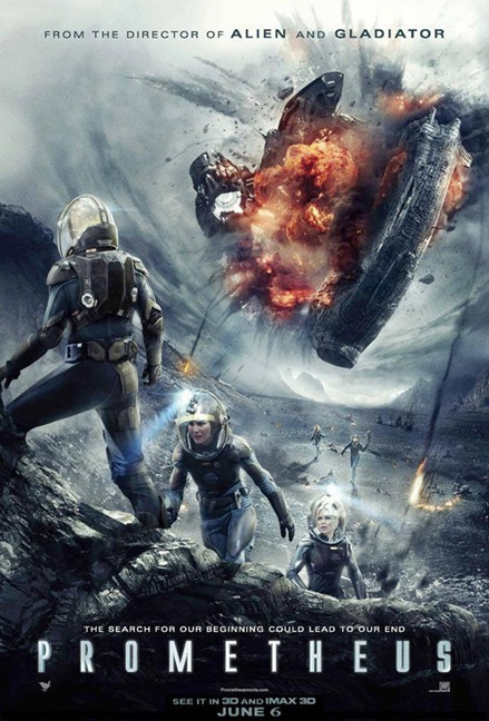 Prometheus international movie poster