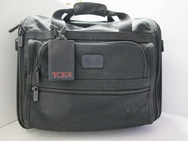 Tumi Carry on Bag Black
