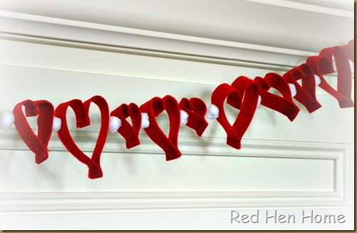 2013 Valentine bunting