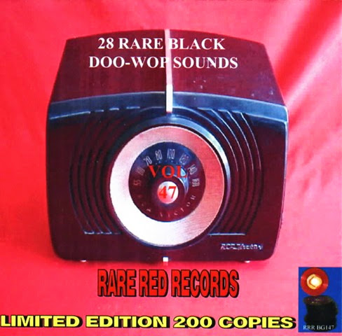Rare Black Doo-Wop Sounds Vol. 47 - 29 - Front