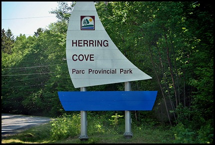 00a-Herring Cove Provincial Park Sign