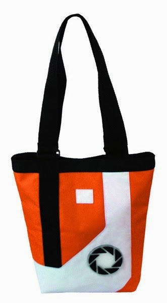 Portal 2 Chell Jumpsuit Tote Bag from Urban Collector
