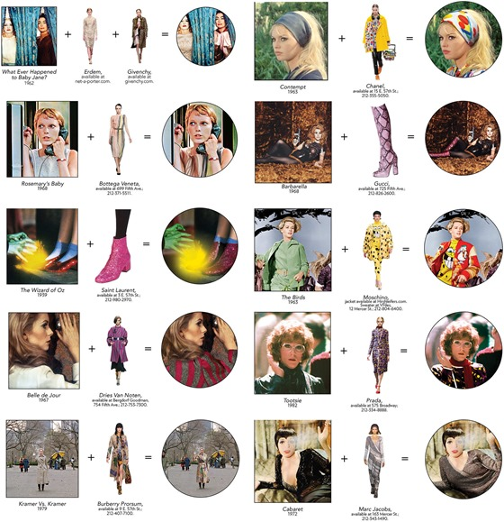 beatpie: CELLULOID PAPER DOLLS: Fall Fashions in Classic Films