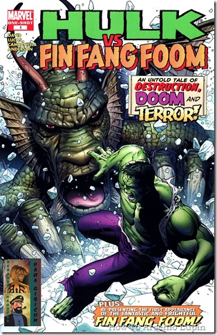 Hulk vs Fin Fang Foom