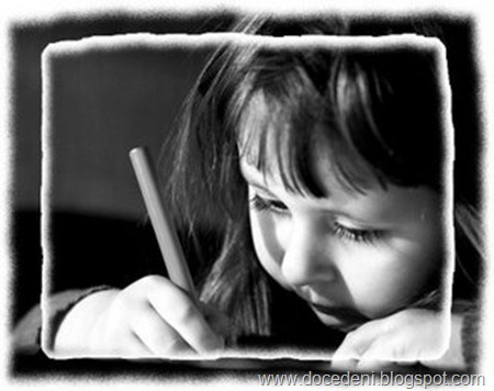 menina escritora