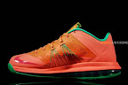 nike lebron 10 low gr watermelon 2 04 Release Reminder: Nike LeBron X Bright Mango aka Watermelon