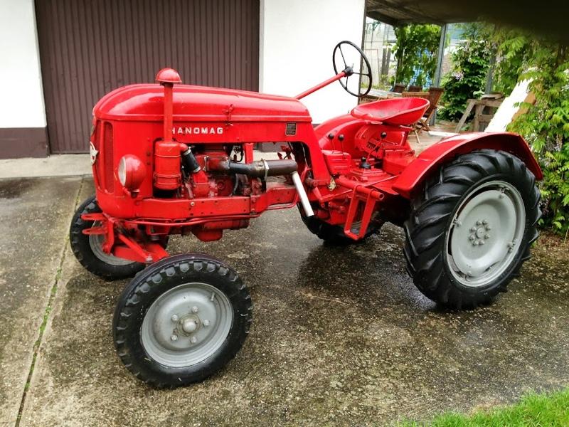 Traktor hanomag r ebay