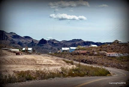Arriving in Oatman