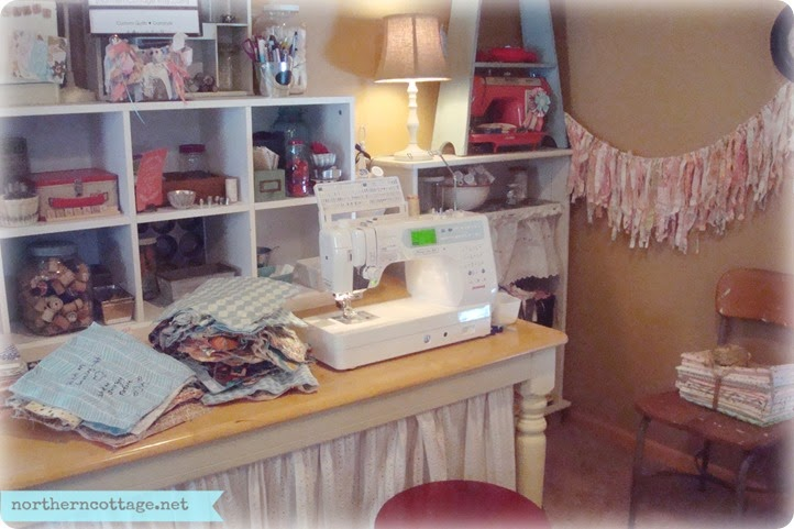 sewing table {NorthernCottage}