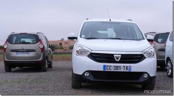 Dacia Lodgy testdagen 25