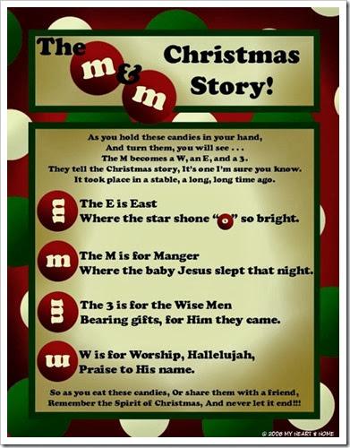 mandm christmas story