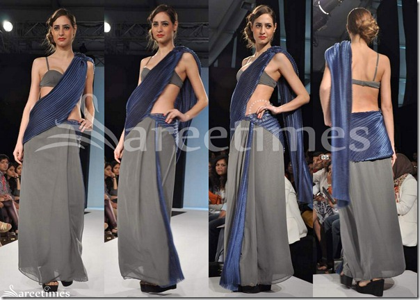 Astha_Narang_Grey_Blue_Saree