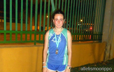 Leila Nogales Subcampeona Andalucía Sub-20
