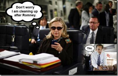 Texting Hillary2