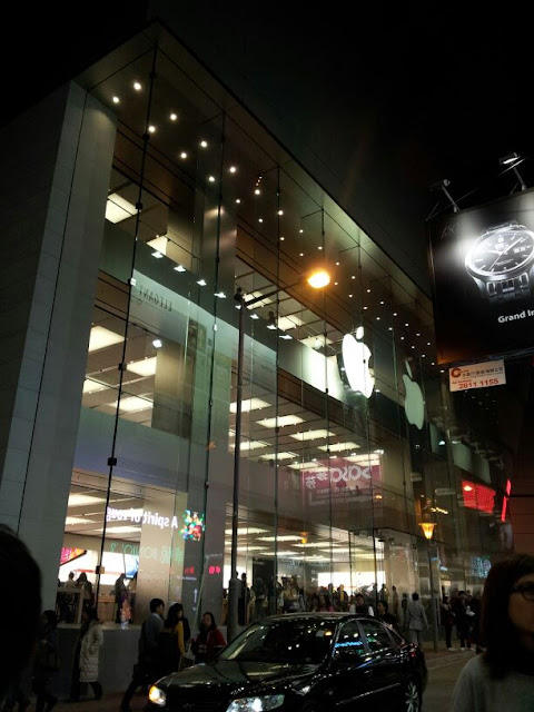 Apple Shop@Hysan Plaza