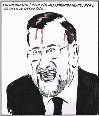 Rajoy mentiroso