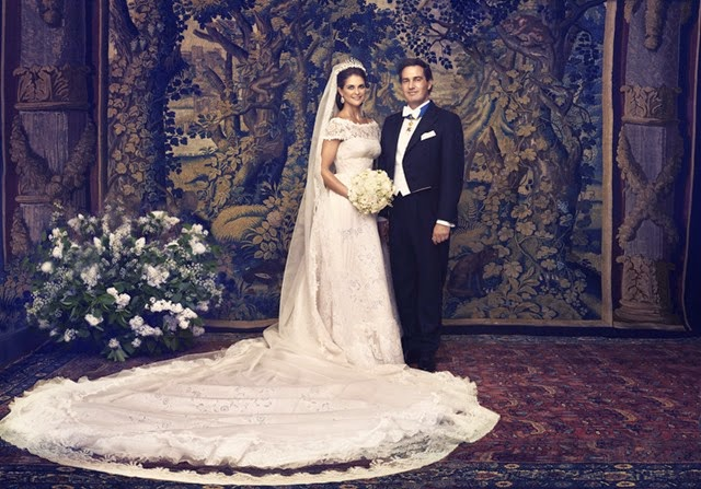 La princesa Magdalena y Christopher O'Neill. Foto Ewa-Marie Rundquist, Casa Real sueca