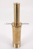 "1 1/2"" Brass Double-Trumpet Film Nozzle"