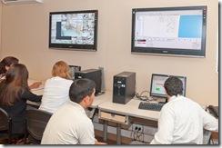 El municipio de Las Flores capacitó personal en la Central de Videovigilancia local