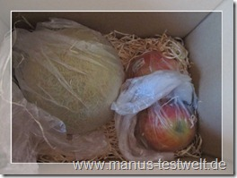 Obst extra verpackt