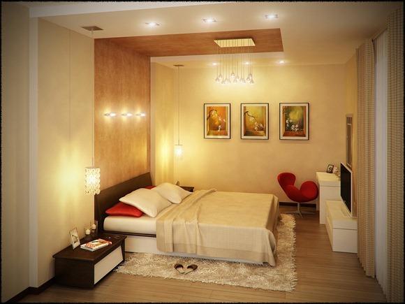 red-white-bedroom-extended-headboard-design