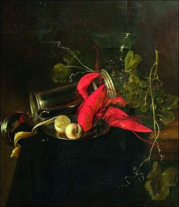 Jan Davidz de Heem, Nature morte aux homards