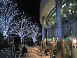 The outskirts of Roppongi Hills on New Year's Eve