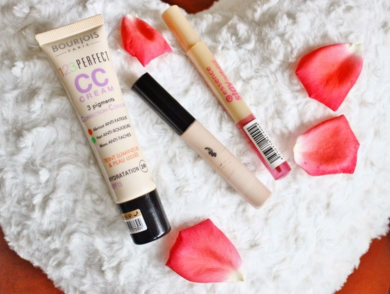 bourjois cc cream essence stay natural concealer collection lasting perfection