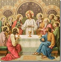 Jesus Serving Mass