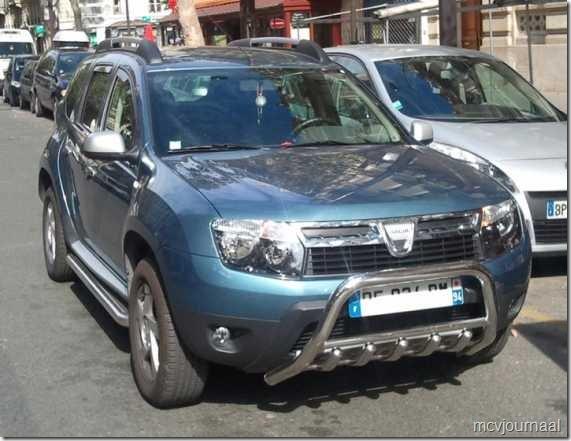 Dacia Duster Bullbar 05