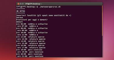 3B Meteo Script Linux