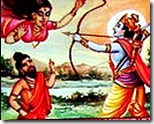 Rama killing Tataka