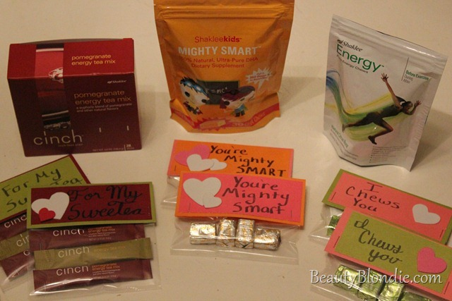 Shaklee Energy Tea, Energy Chews and Might Smarts