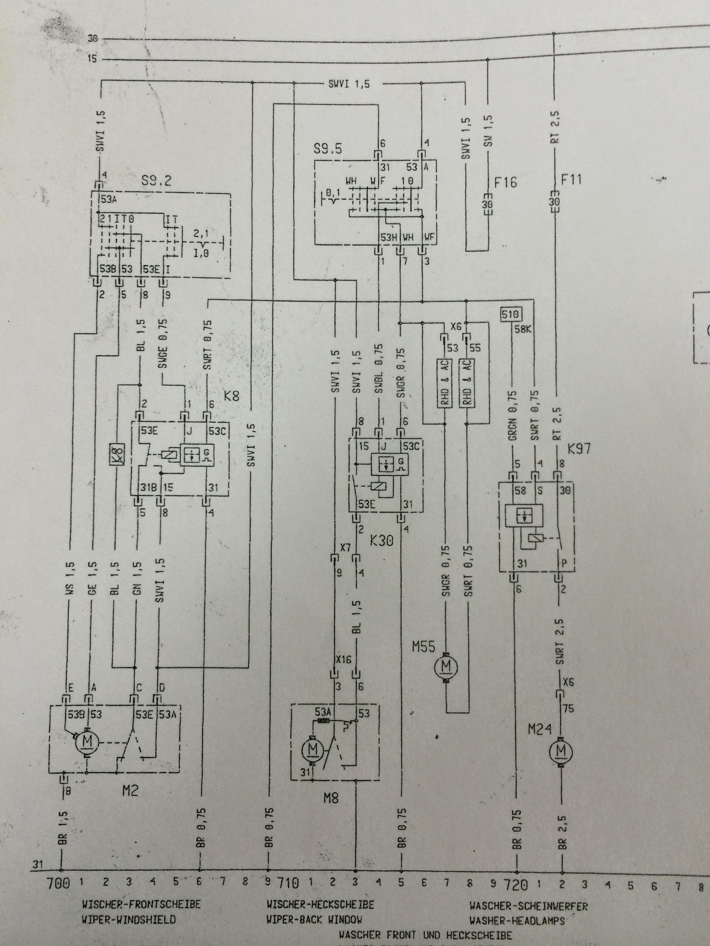 Circuito Electrico Simple Diagrama : Circuito eléctrico del limpiaparabrisas u sistemas eléctricos del