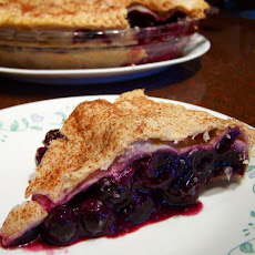 Deep Dish Blueberry Pie!