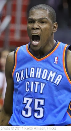 'Kevin Durant' photo (c) 2011, Keith Allison - license: http://creativecommons.org/licenses/by-sa/2.0/