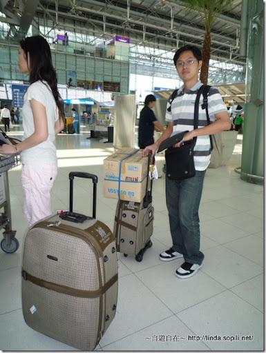 2009泰國曼谷-我們的行李