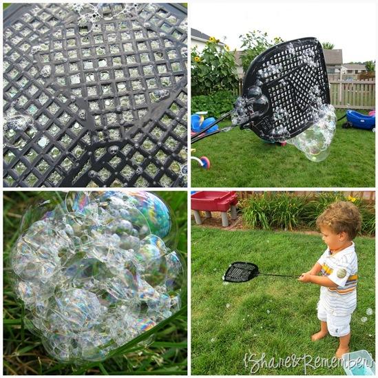 Flyswatter Bubbles