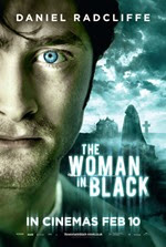 The Woman in Black poster Daniel Radcliffe