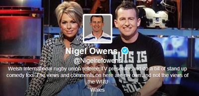 Nigel Owens photo