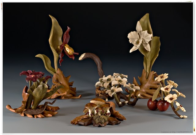 Скульптуры из дерева и алебастра. Дениз Нильсен и Джордж Уортингтон