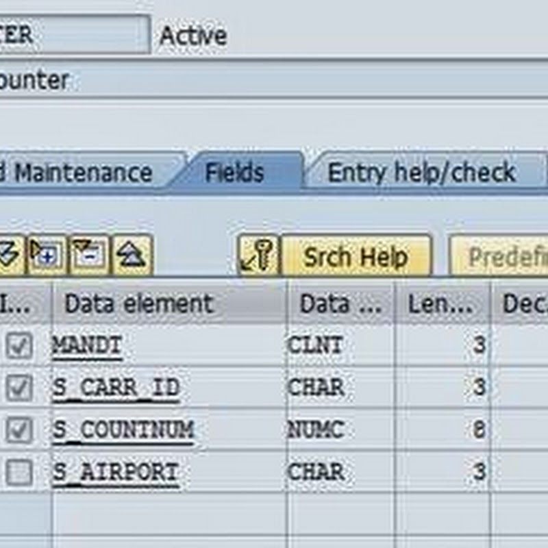 Index in SAP ABAP
