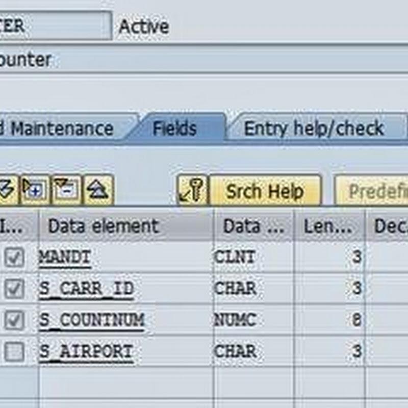 Index in SAP ABAP