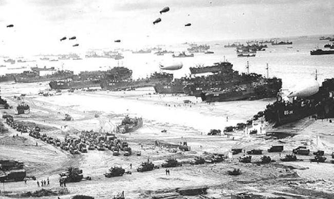 Οι Κεφαλονίτες και Θιακοί στην απόβαση της Νορμανδίας (6 Ιουνίου 1944)